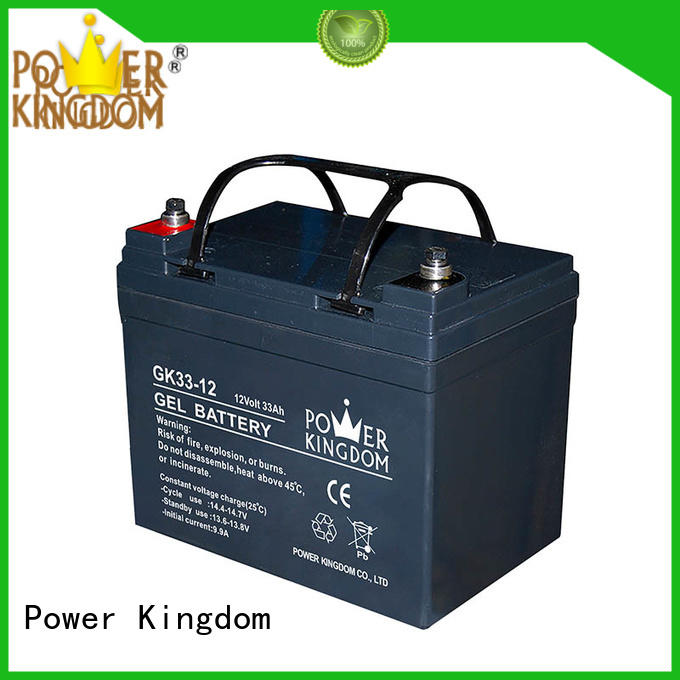 Power Kingdom agm vrla battery directly sale fire system