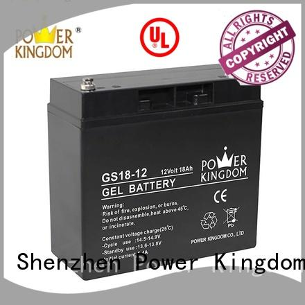Power Kingdom agm solar battery directly sale electric toys