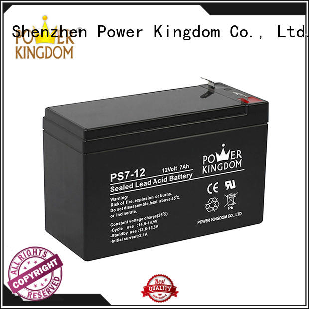 Power Kingdom sealed lead acid batteries promotion electric forklift