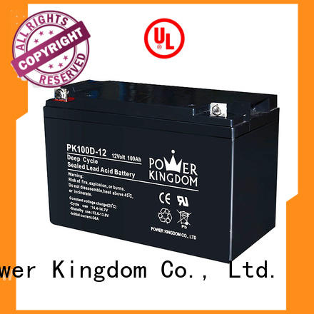 Power Kingdom cycle 100ah deep cycle battery personalized vehile and power storage system