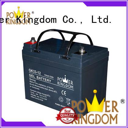 Power Kingdom fine workmanship sealed gel battery 12v electric toys