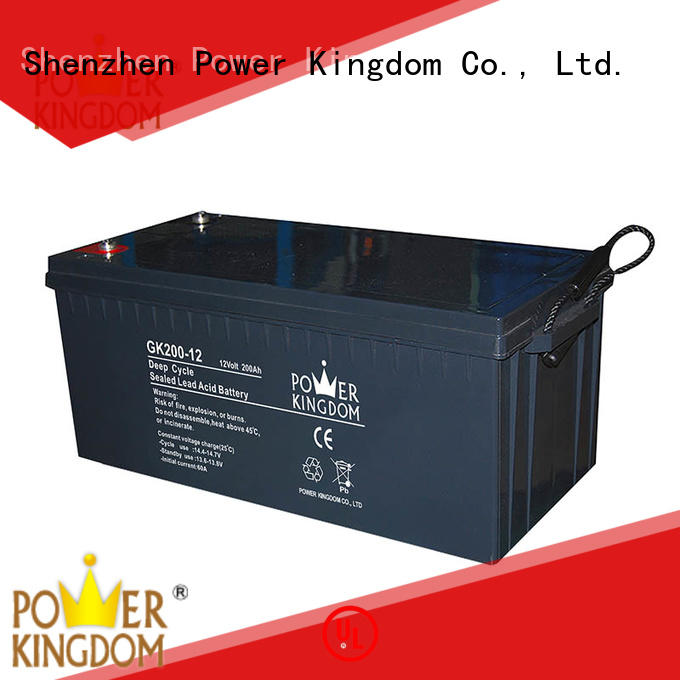 Power Kingdom cycle best agm deep cycle battery Automatic door system