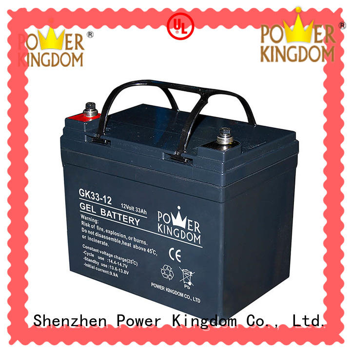 Power Kingdom fine workmanship agm solar battery china wholesale website communication equipment