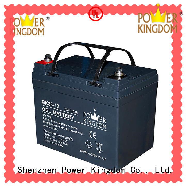 Power Kingdom agm vrla battery factory price fire system