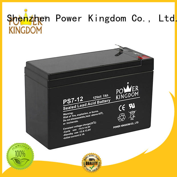 Good materials 12v ups battery china factory electric wheelchair Power Kingdom