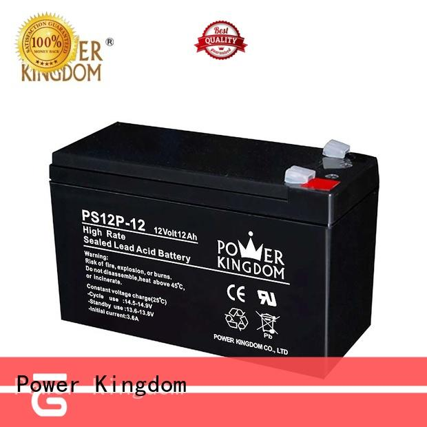Power Kingdom lead acid battery self discharge from China