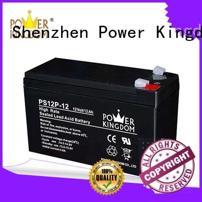 Power Kingdom lead acid battery self discharge directly sale