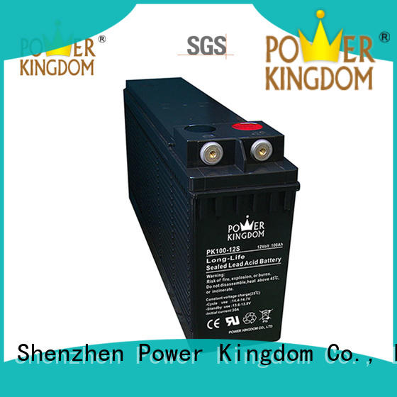 Power Kingdom popular front terminal battery factory price railway station