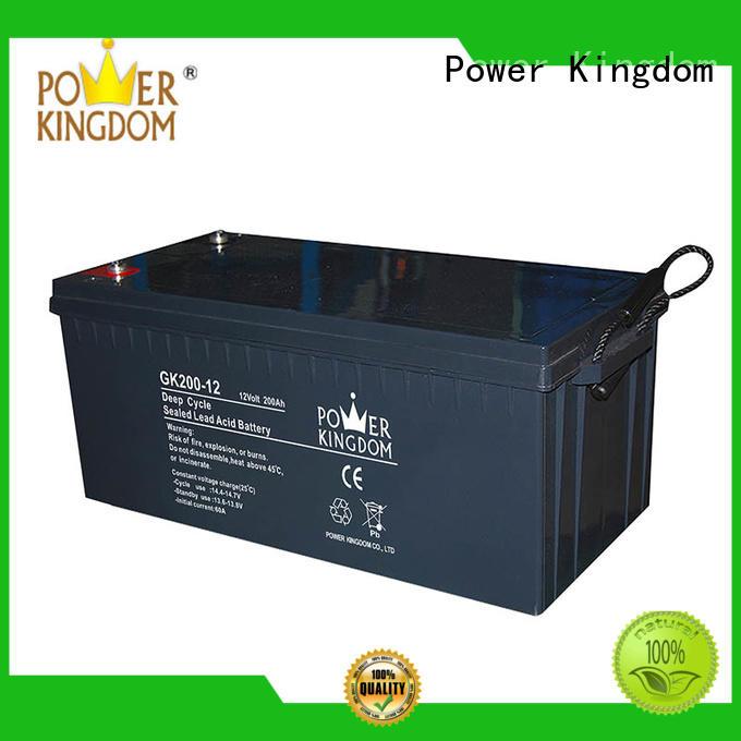 Power Kingdom solar gel cell battery in Power Kingdom telecommunication