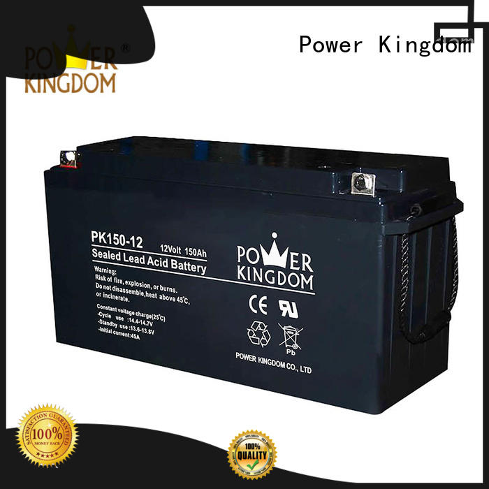 Power Kingdom sealed acid battery factory wind power system