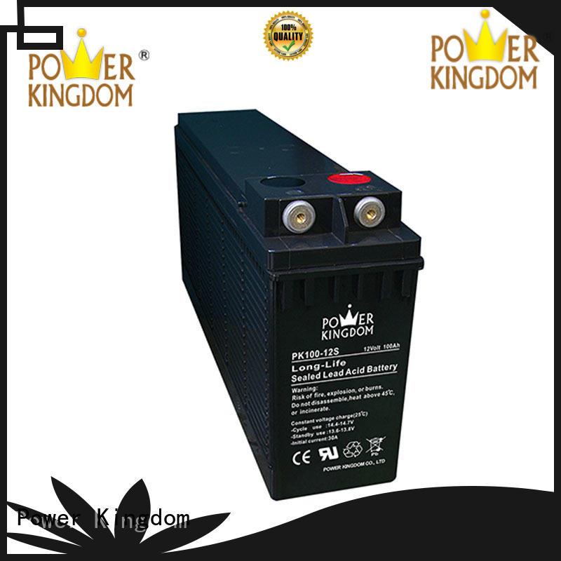 Power Kingdom 12v 100ah battery supplier railway station
