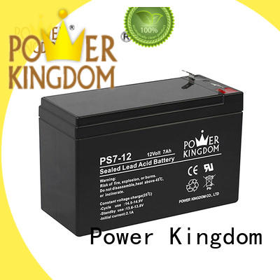 Power Kingdom advanced production technology sealed lead acid battery 12v 7ah promotion electric forklift