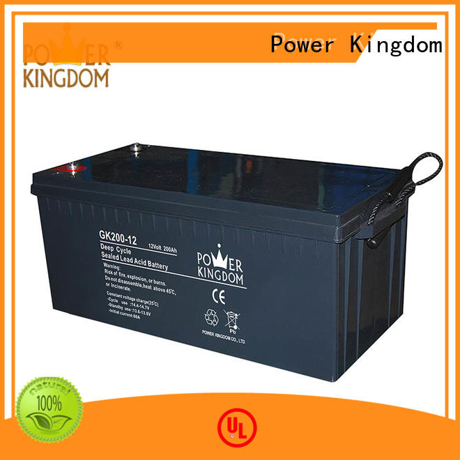 Power Kingdom 12v agm deep cycle battery in Power Kingdom standby power supplies