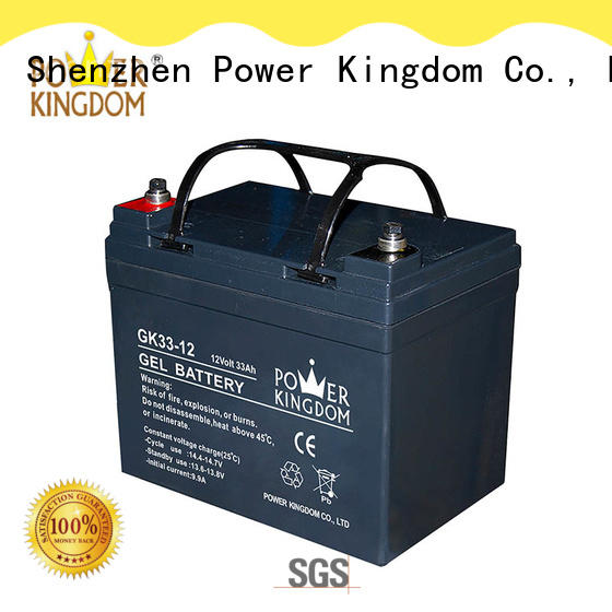 Power Kingdom 100ah agm battery factory price communication equipment