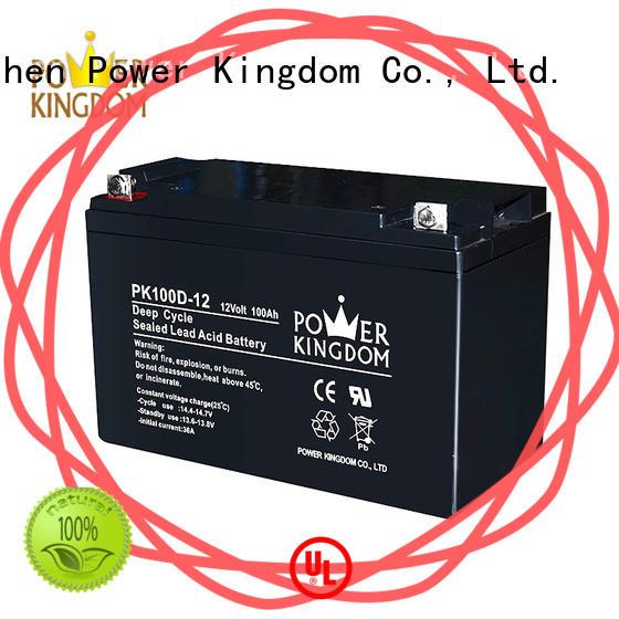 deep cycle lead acid battery 12v vehile and power storage system Power Kingdom