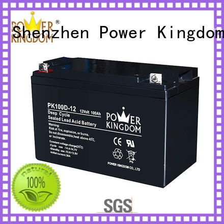 poles design 100ah deep cycle battery personalized