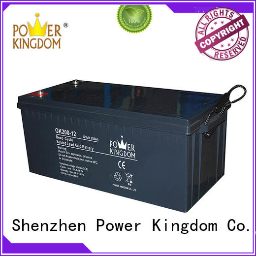Power Kingdom deep cycle battery gel company telecommunication