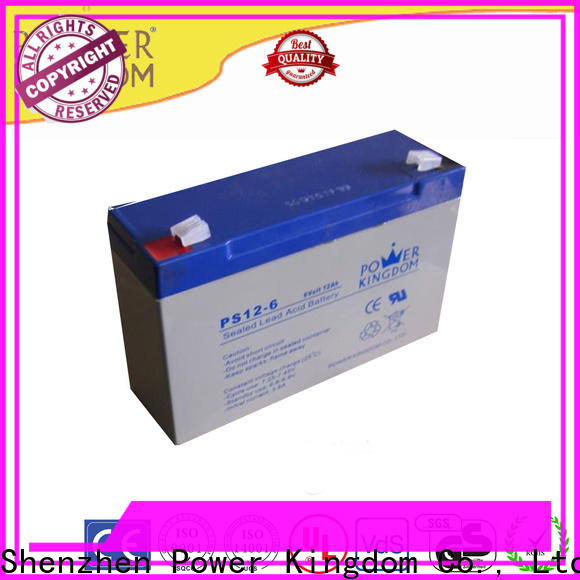 Power Kingdom deep 12v deep cycle battery factory price wind power systems