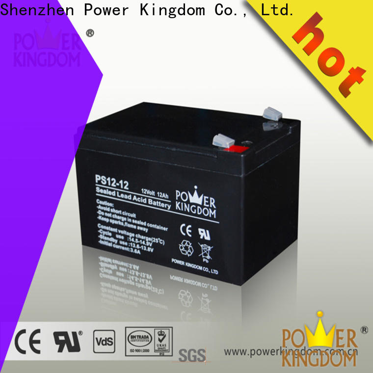 Power Kingdom 6 volt deep cycle battery supplier deep discharge device