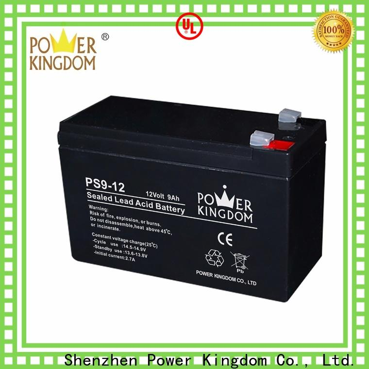 Power Kingdom 6 volt deep cycle battery personalized vehile and power storage system