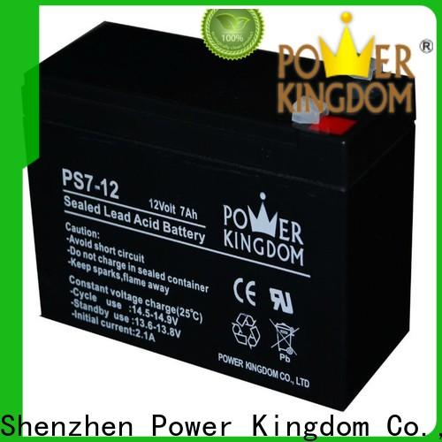 Power Kingdom 12v 100ah deep cycle battery price Supply wind power systems