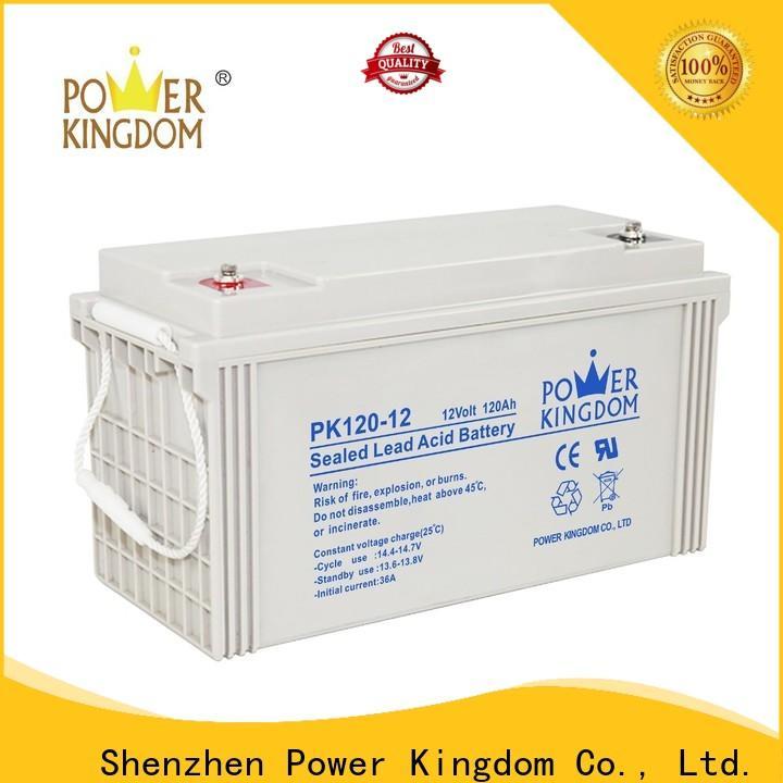 Power Kingdom vrla battery gel customization solar and wind power system