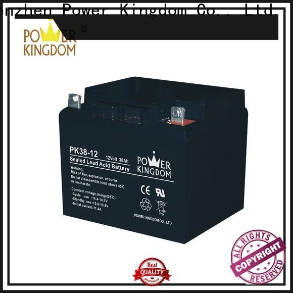Power Kingdom Custom gel batteries for boats factory price Power tools