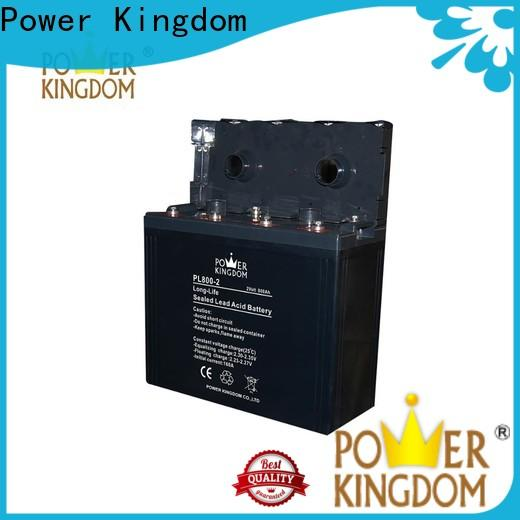 Power Kingdom 130 amp deep cycle battery factory price Power tools