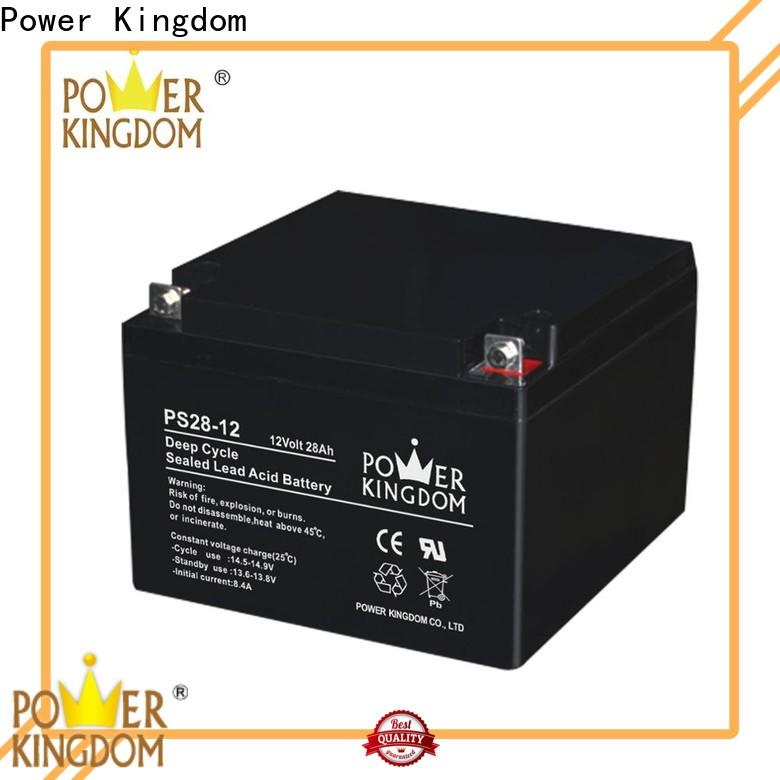 High-quality small deep cycle battery from China solar and wind power system