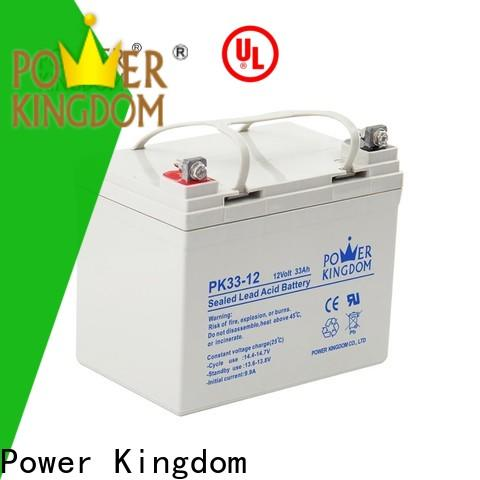 Power Kingdom advanced plate casters t gel battery factory price solar and wind power system