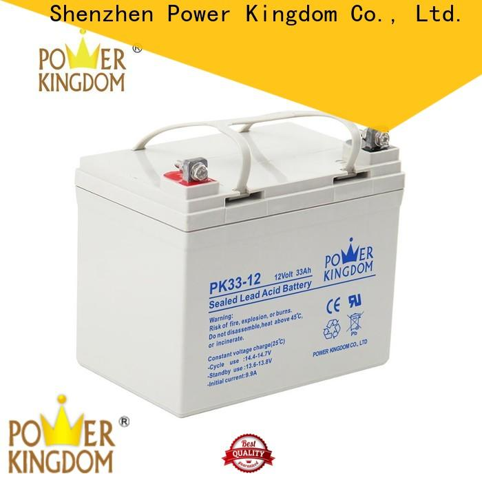Power Kingdom agm battery replacement company solar and wind power system