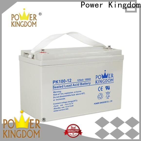 Power Kingdom advanced plate casters gel cell atv battery from China Power tools