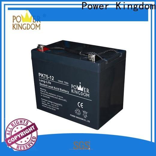 Power Kingdom mechanical operation 12 volt marine gel battery factory Power tools