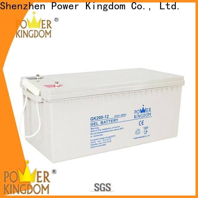 Power Kingdom Custom agm type battery manufacturers