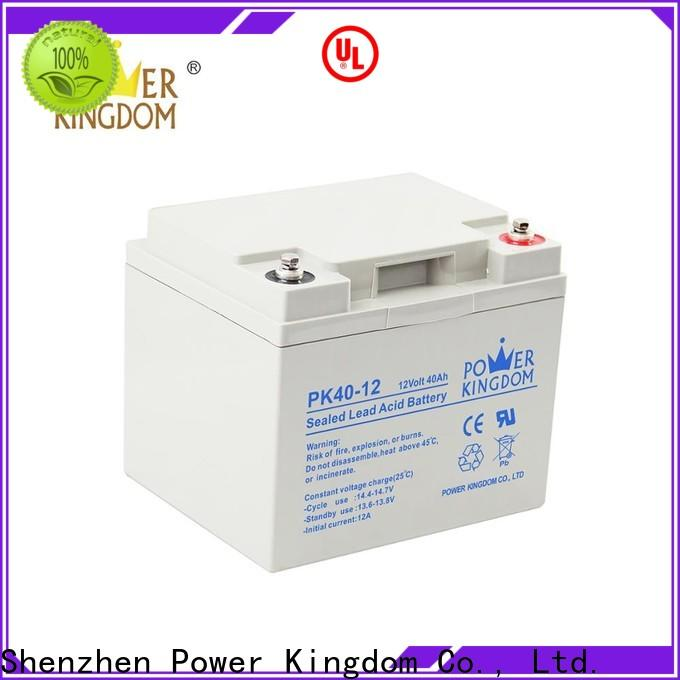 Power Kingdom marine battery gel cell from China