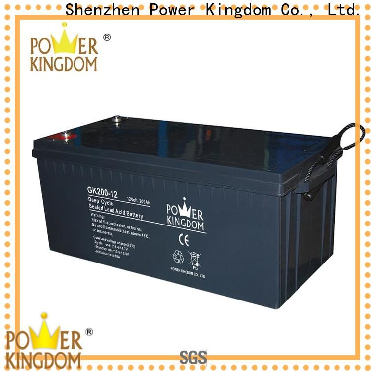 Power Kingdom gel golf cart batteries factory Automatic door system