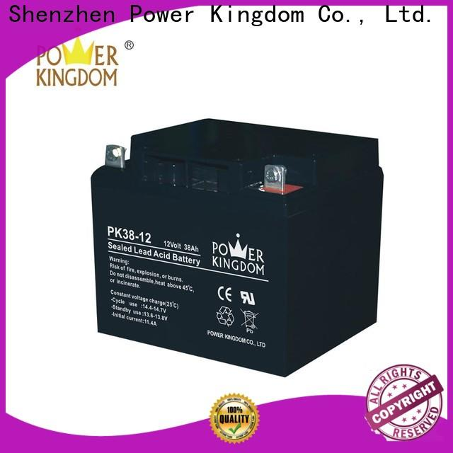 Power Kingdom 22nf agm battery from China solar and wind power system