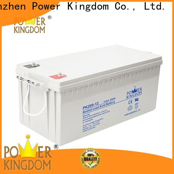 Power Kingdom Latest optima gel cell Supply solar and wind power system
