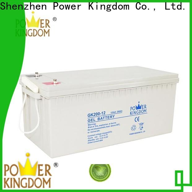 Power Kingdom group 49 agm battery factory price Power tools