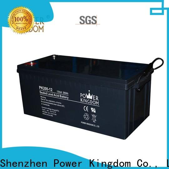 Power Kingdom group 24 gel cell battery directly sale