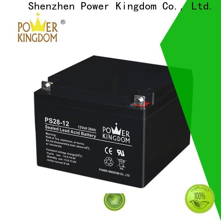 Power Kingdom equalizing agm batteries Suppliers solar and wind power system