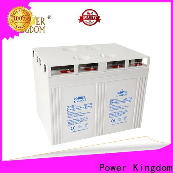Power Kingdom 12 volt gel deep cycle battery for business solar and wind power system
