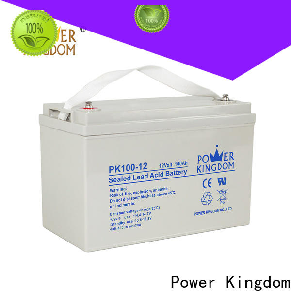 Power Kingdom deep cycle battery types comparison manufacturers solar and wind power system
