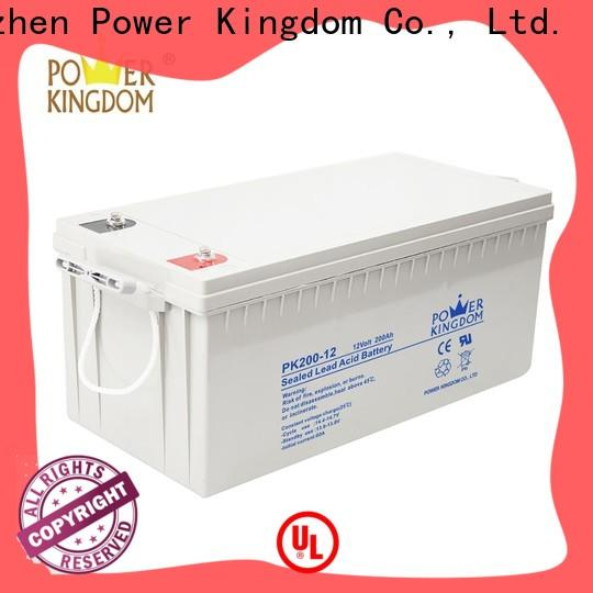 Power Kingdom advanced plate casters gel cell batteries for golf carts Suppliers solar and wind power system
