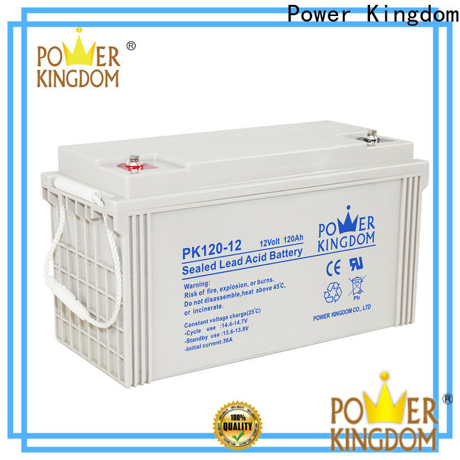 Power Kingdom Best agm battery cca manufacturers