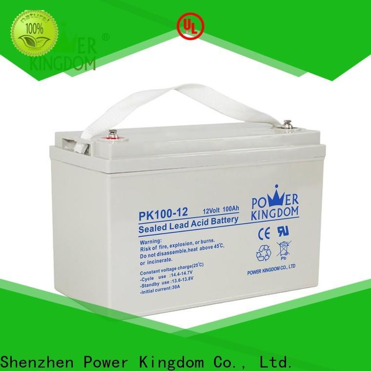 Power Kingdom deep cycle marine battery comparison Supply