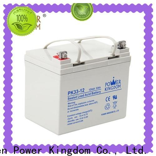 Power Kingdom valve regulated lead acid battery from China Automatic door system