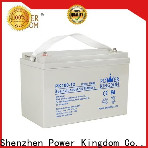 Power Kingdom equalizing agm batteries Supply