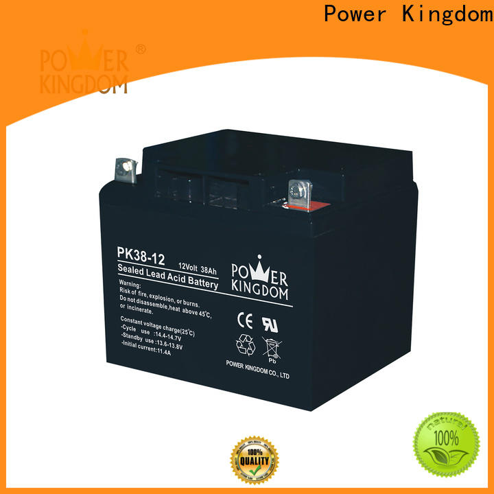 Power Kingdom deep cycle battery agm or gel factory price solar and wind power system