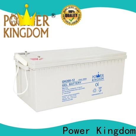 Power Kingdom lead acid gel battery directly sale